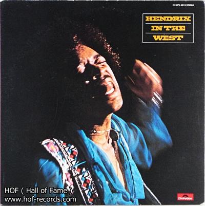 Jimi Hendrix - Hendrix in the west 1lp