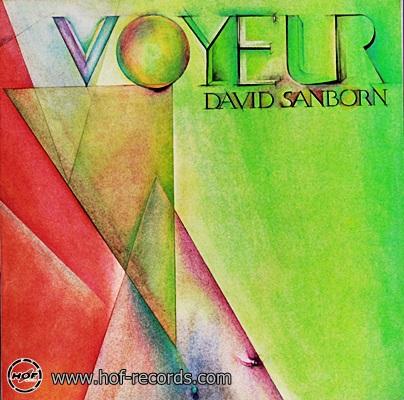 David Sanborn - Voyeur 1981 1lp