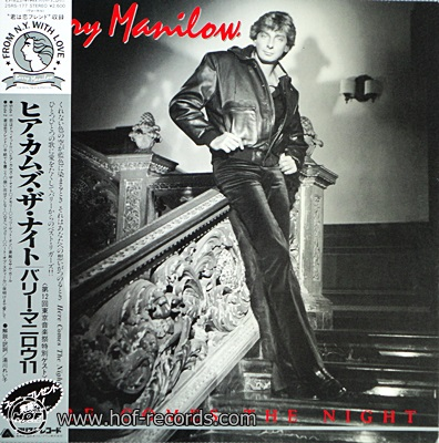 Barry Manilow - Here Comes The Night 1982 1lp