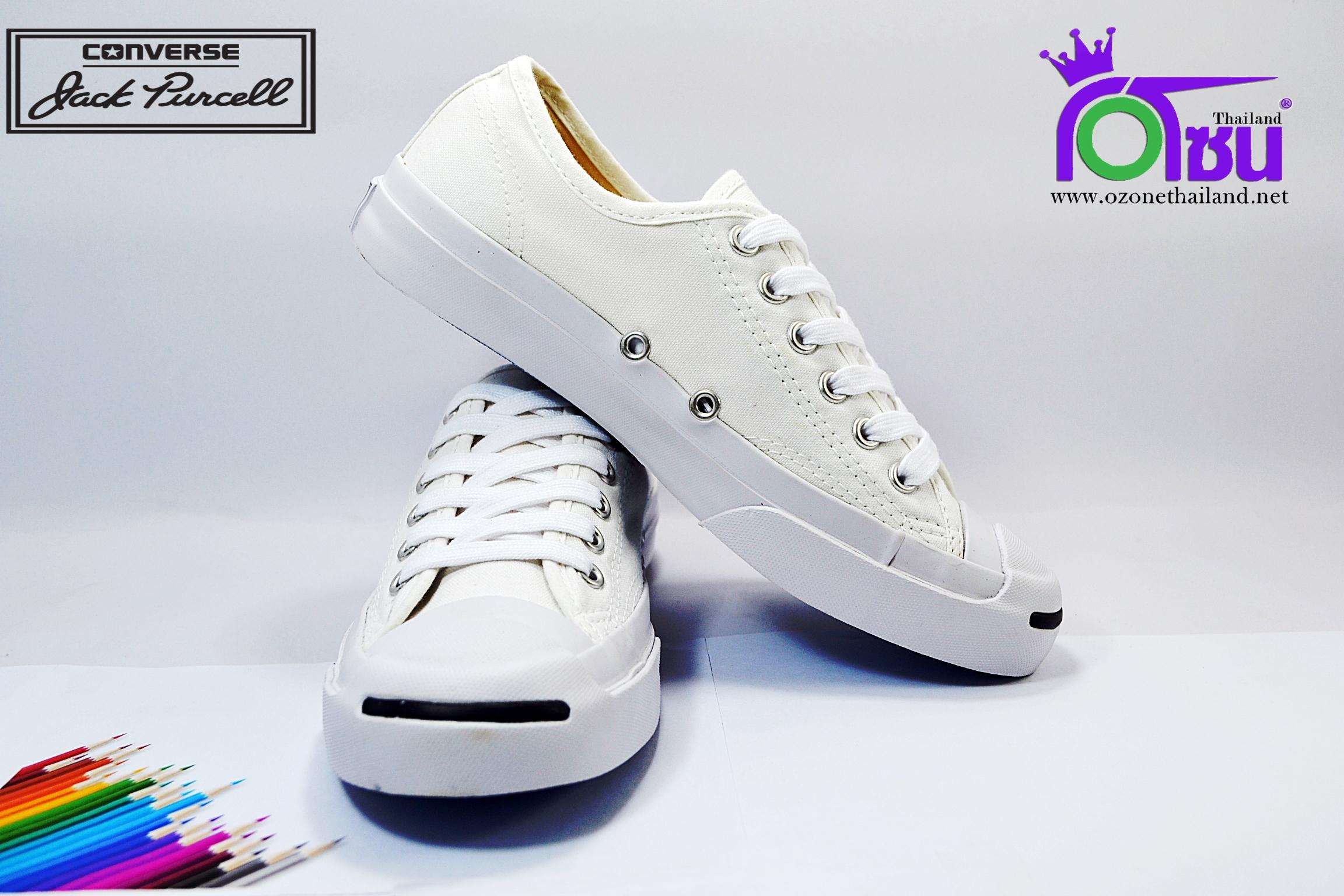 รองเท้าผาใบ CONVERSE JACK PURCELL CP OX WHITE เบอร์4-10