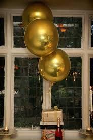 """ลูกโป่งฟอลย์ ทรงกลมลูกบอลสีทอง ไซส์ 22"""" ORBZ GOLD / Item No.TQ-A2820599 แบรนด์ Qualatex"""