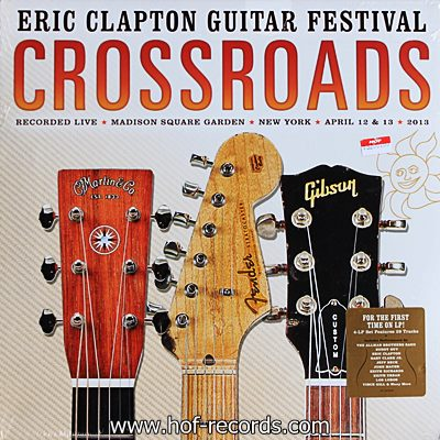 Eric Clapton - Guitar Festival Crossroads 3lp