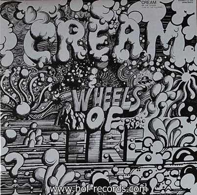 Cream - Wheels Of Fire 1968 2lp