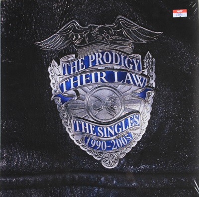 THE PRODIGY - THEIR LAW THE SINGLES 1990-2005 2LP N.