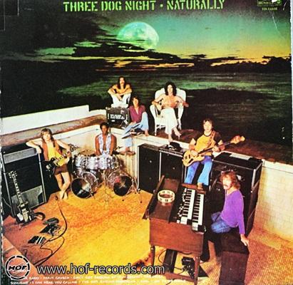 Three Dog Night - Naturally 1974 1lp