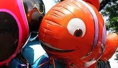 Clown Fish Shape Balloon - ลายปลาการ์ตูน นีโม่ / Item No. TL-B006