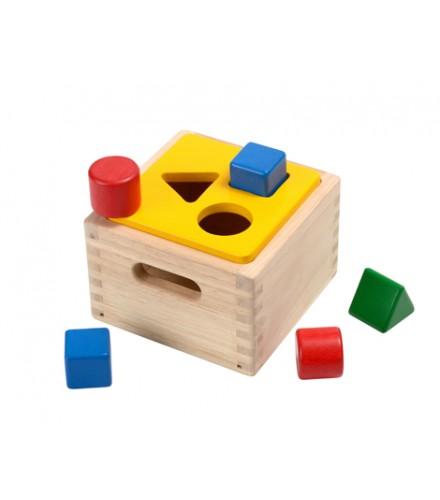 ของเล่นไม้ ของเล่นเด็ก ของเล่นเสริมพัฒนาการ Shape & Sort It Out (ส่งฟรี)