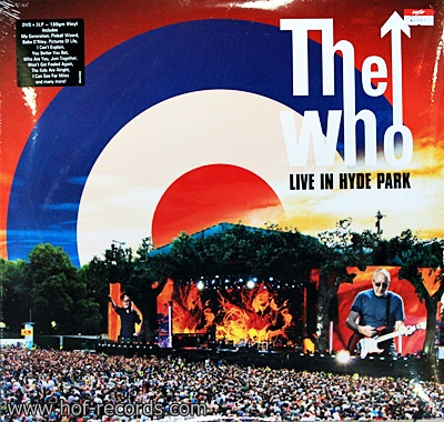 The W.ho - Live In Hyde Park 3Lp N