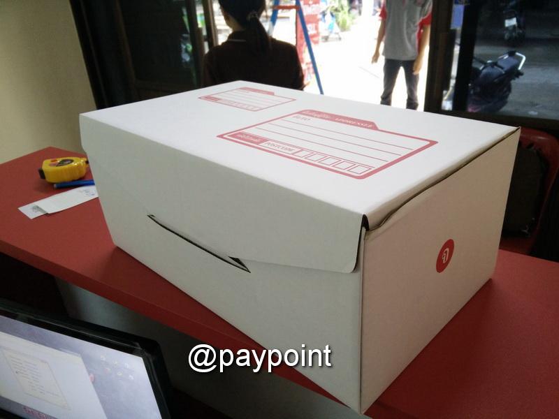 กล่องไปรษณีย์ ไดคัทสีขาว เบอร์ 00 ขนาด 9X14X6ซม.