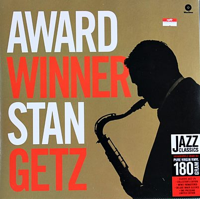 Stan Getz - Award Winner 1lp NEW