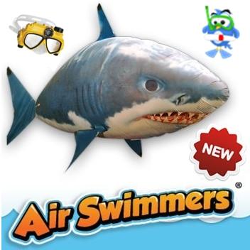 Air Swimmer - Flying Shark Fish ปลาฉลามบอลลูน พร้อมรีโมทไม่รวมก๊าซฮีเลียม