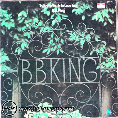 bb king -to know you is love you 1lp