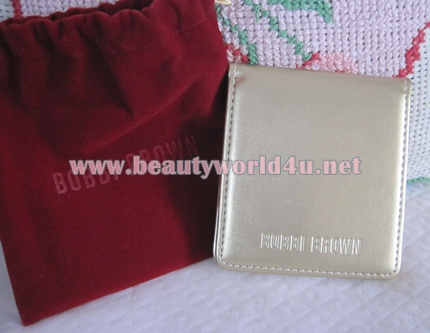Bobbi brown gold mirror