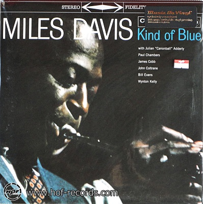 Miles Davis - Kind Of Blue 1lp NEW