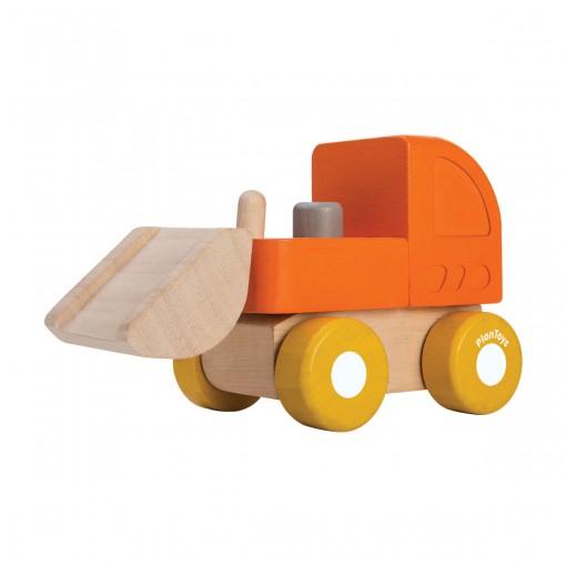 ของเล่นไม้ ของเล่นเด็ก ของเล่นเสริมพัฒนาการ Mini Bulldozer (ส่งฟรี)