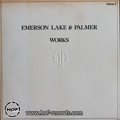 ELP - Works Volume 2 1lp