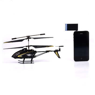 i-helicopter for iPhone 888-107 Silver