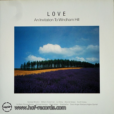 LOVE An Invitation To Windham Hill 1985 1lp