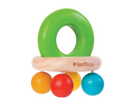 ของเล่นไม้ ของเล่นเด็ก ของเล่นเสริมพัฒนาการ Bell Rattle (ส่งฟรี)