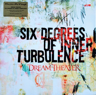 Dream Theater - Six Degrees Of Inner Turbulence 2Lp 2002 N.