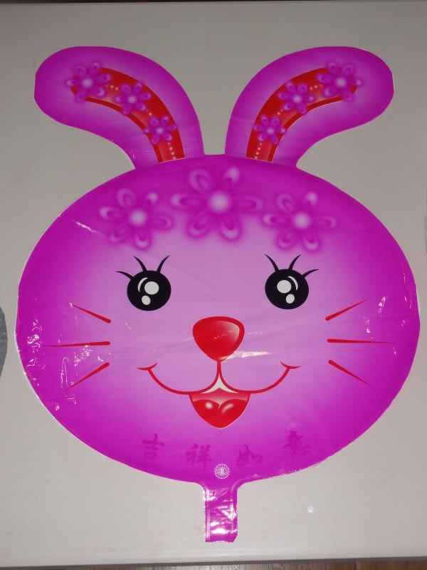 Rabbit ShapeFoil Balloon - บอลลูนหน้ากระต่าย