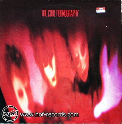 the Cure - Pornography 1 LP N.