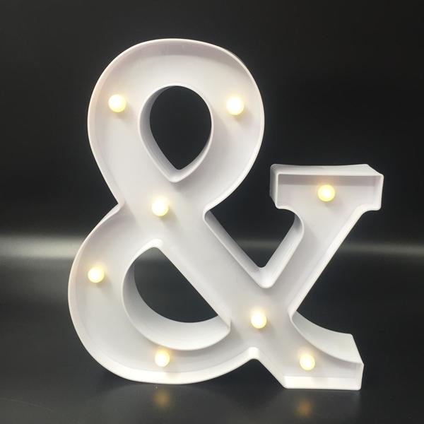 กล่องไฟ LED ตัวสัญญลักษณ์แอนน์ & กล่องสีขาว/ ราคาต่อ 1 ชิ้น
