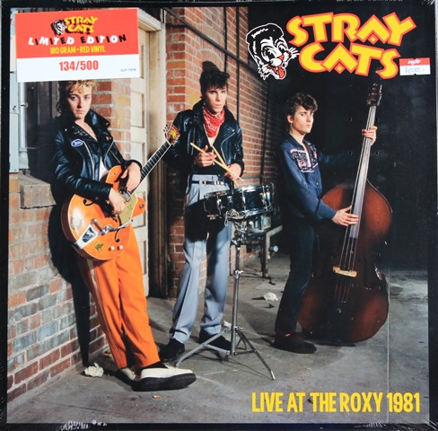 Stray Cats - Live At The Roxy 1981 1lp N.