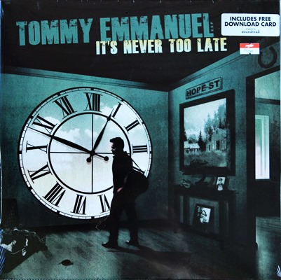 Tommy Emmanuel - It's Never Too Late 1Lp N.
