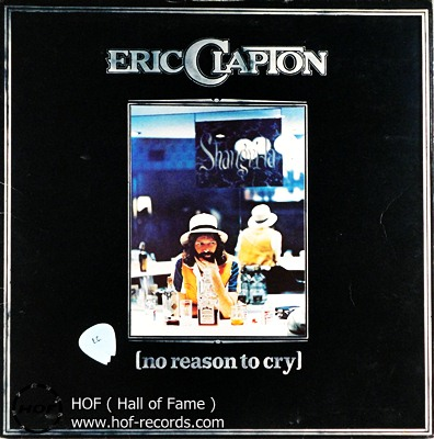 Eric Clapton - no reason to cry 1 LP