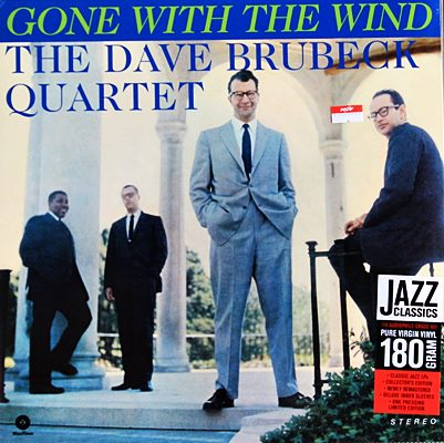Dave Brubeck Quartrt - Gone Whit The Wind 1lp NEW