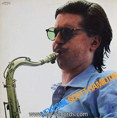 Scott Hamilton - New Soil 1978 1lp