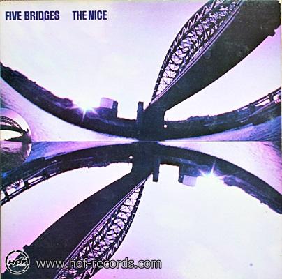 The Nice - Five Bridges 1970 1lp