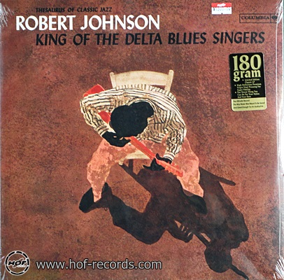 Robert Johnson - King Of The Delta Blues Singers 1lp USA NEW