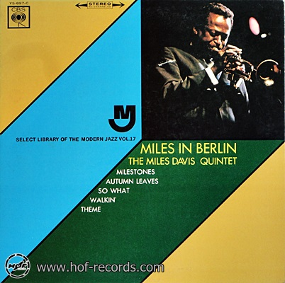 Miles Davis - Miles In Berlin 1lp