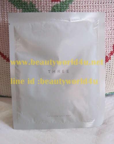 Three balancing lotion mask (ลดพิเศษ)