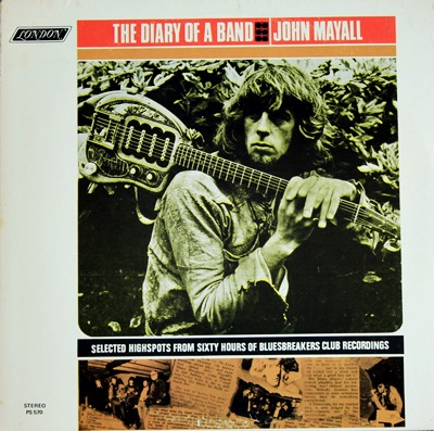 John Mayall - The Diary Of A Band 1Lp