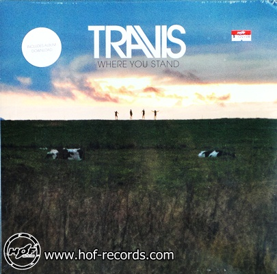 Travis - Where You Stand 1lp NEW