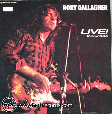 rory gallagher - live in europe 1lp