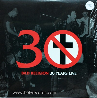 Bad Religion - 30 Years Live 1Lp N.