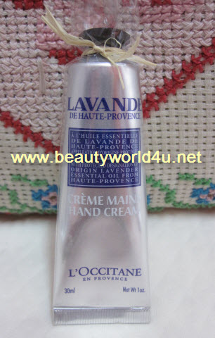 L'OCCITANE Lavender Hand Cream 30ml. (ลดพิเศษ 30%)