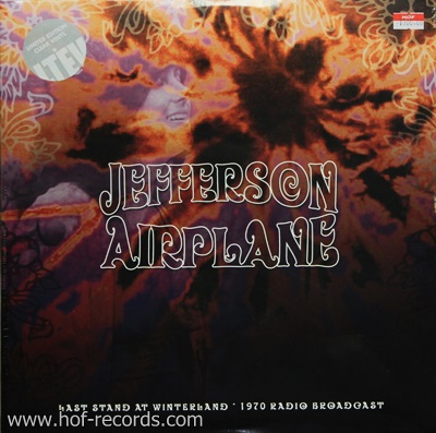 Jefferson Airplane - Last Stand At Winterland 1970 Radio Broadcast 2Lp N.