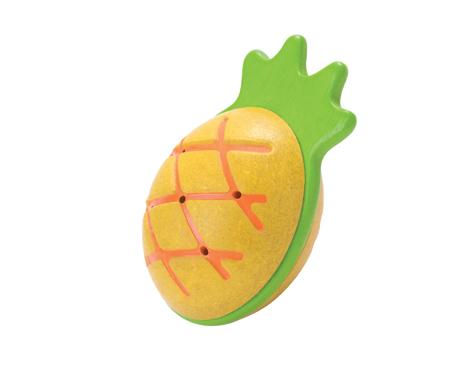 ของเล่นไม้ ของเล่นเด็ก ของเล่นเสริมพัฒนาการ Pineapple Maraca