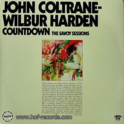 John Coltrane - Wilbur Harden/Countdown 2lp