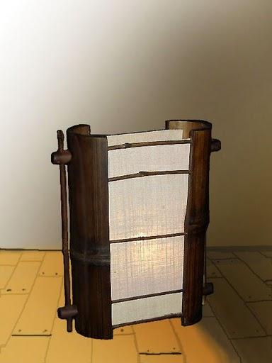 โคมไฟไม้ไผ่ Bamboo Lamp BL-1008