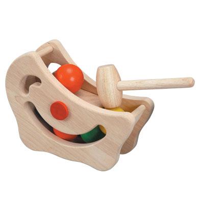 ของเล่นไม้ ของเล่นเด็ก ของเล่นเสริมพัฒนาการ Miracle Pounding พระจันทร์แสนกล (ส่งฟรี)