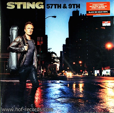 Sting - 57TH & 9TH 1Lp N.