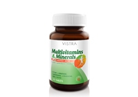 Vistra Multivitamins & Minerals Plus Amino Plus Acid 30 เม็ด