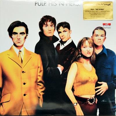 Pulp - His 'N' Hers.2Lp N.