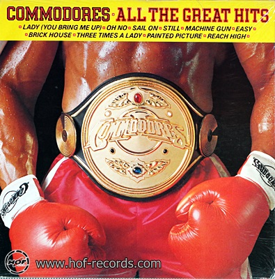 Commodores - All The Great Hits 1982 1lp